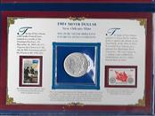 Postal Commemorative Society-The Last New Orleans Silver Dollar